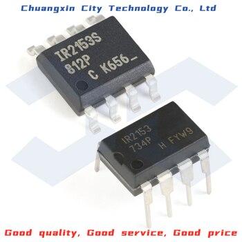 100% New&Original IR2153PBF DIP-8 IR2153STRPBF SOIC-8 600V Driver Integrated circuit chip IC 5pcs lot new original ta6586 6586 dip 8 motor driver ic