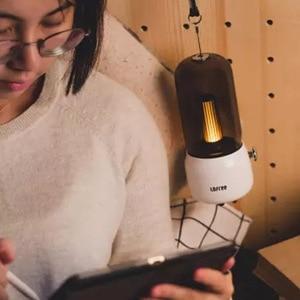 Image 4 - لوفري شمعة ضوء الرجعية 1800k اثنين من وسائط الضوء USB شحن/عمود شحن LED ضوء شمعة مصباح طاولة الإبداعية