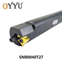 OYYU SVNR SVNR0040 T27 SVNR0040T27 Internal Turning Toolholder for Carbide Inserts Boring Bar CNC Lathe Tool Holder