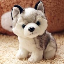 Super Cute 20cm Husky Puppy Dogs Stuffed Doll Plush Toys Simulation Kids Appease