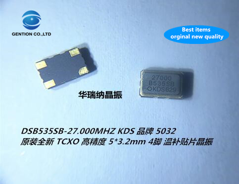 2pcs 100% New And Orginal TCXO 5032 Temperature Subsidy Chip Crystal High Precision 5x3.2mm 27M 27MHZ 27.000MHZ