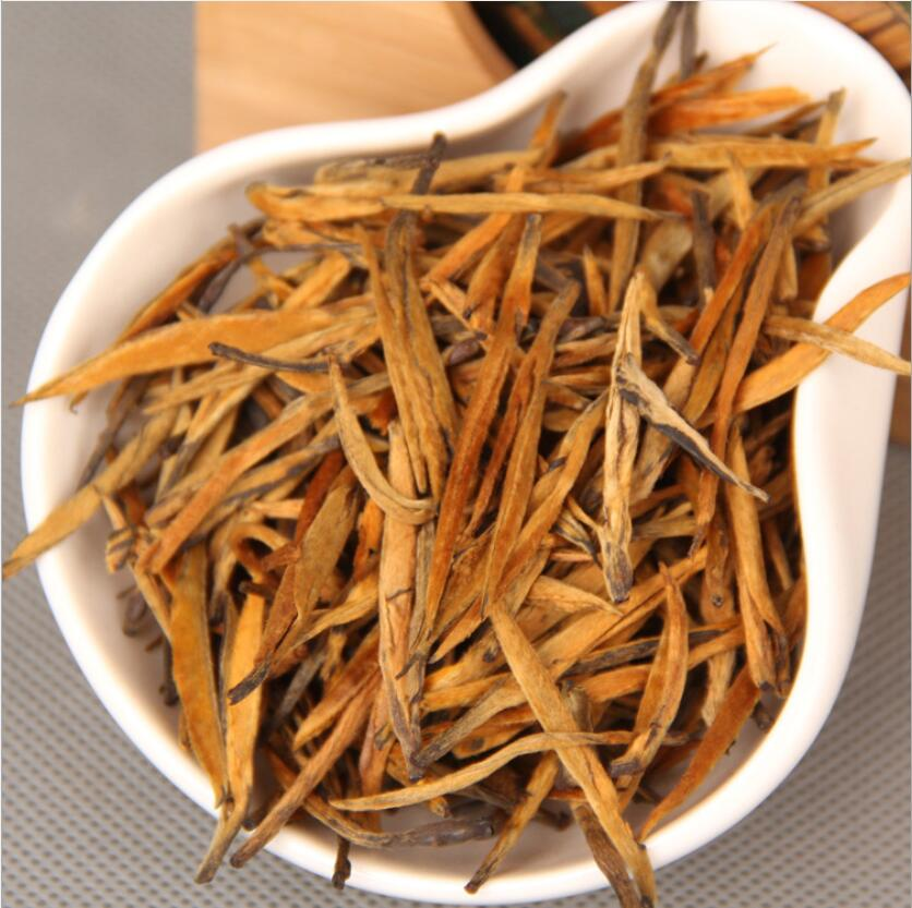 2019 Chinese Feng Qin Dian Hong Tea Big Bud Golden Needle Tea Beauty Slimming Diuretic Down Three Green Food Dian Hong Black Tea
