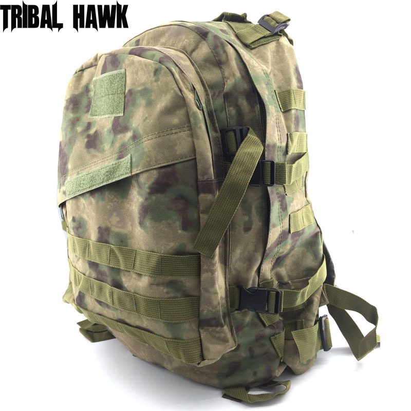 45L Military Tactical Molle Backpack Outdoor Sports Camping Hiking Trekking Bag