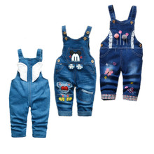 Newborn Clothes Rompers Toddler Baby Girl Boy Overalls Jumpsuit Mickey Autumn Je