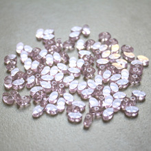 6.5x3.5mm New arrival fashion flat oval shape crystal glass beads DIY jewelry Beads 200pcs