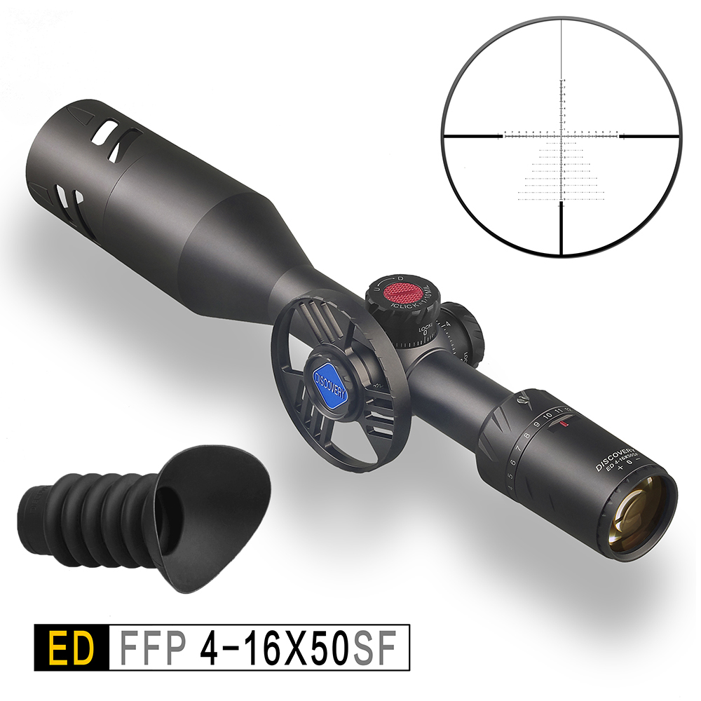 4-16 X50 SF Discovery ED .50BMG Airgun Riflescopes Hunting Optics Scope Gun Sight Tactical The Chinese Best Quality High End