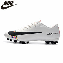 Nike Vapor 12 Academy CR7 AG-R Football Boots Sneakers Mens Soccer Cleats Shoes Nike Boots Men Football Shoes Cleats Size 39-45(China)