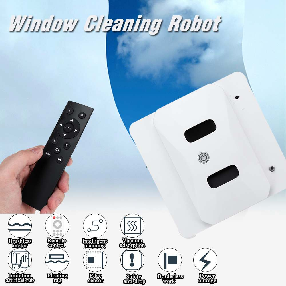 Smart Automatic Window Cleaning Robot Glass Vacuum Cleaner Tool Robotic Washer