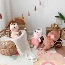 Baby Play Mat Crawling Carpet Kids Floor Rug Cartoon Squirrel Printed Playmat H055