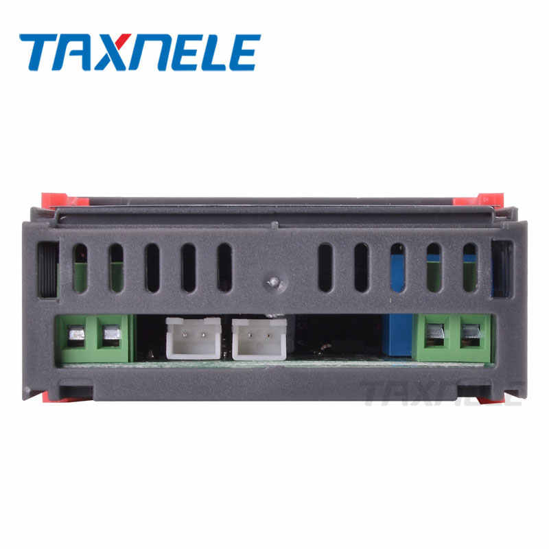 Régulateur de température numérique de STC-3018 12V 24V 220V 10A C/F Thermostat relais thermorégulateur chauffage refroidissement affichage numérique
