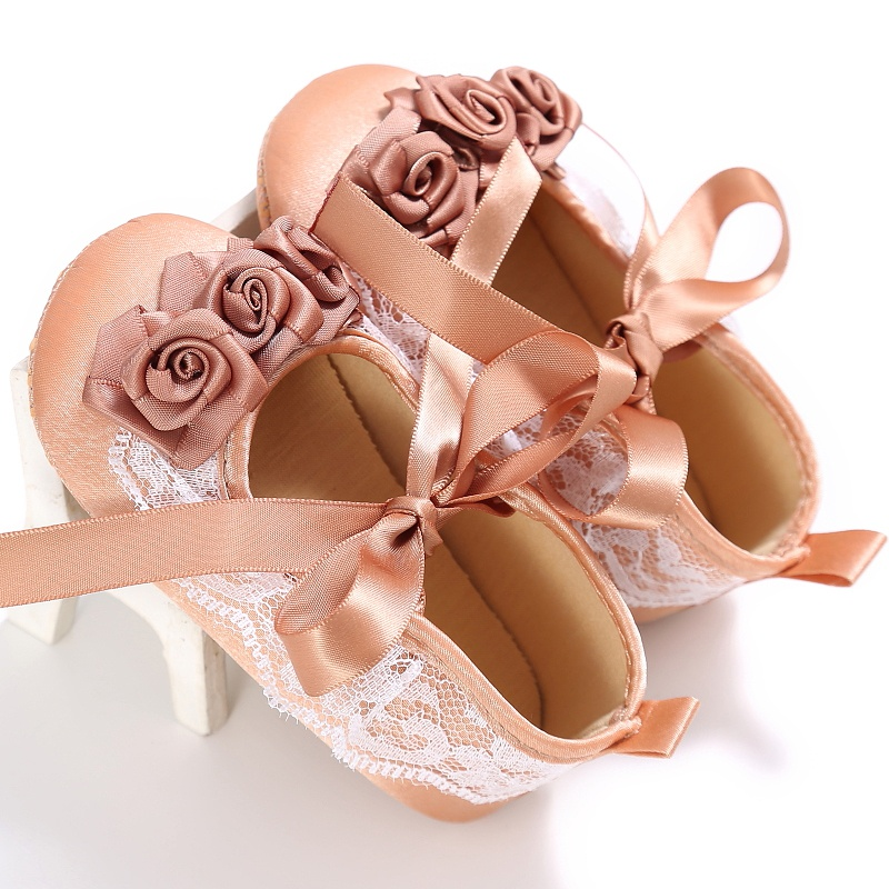 Baby Shoes Baby Girl Silk Surface