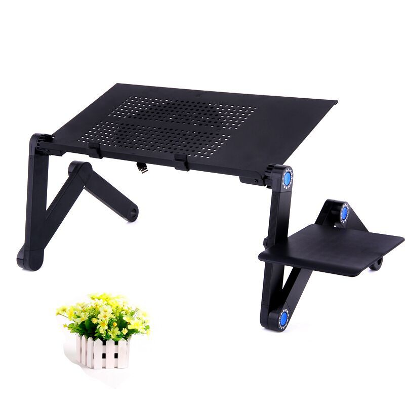 Manufacturers Direct Selling Most New Style Easy To Force Aluminum Laptop Computer Table Ben Zhuo With Radiator L Office Desk