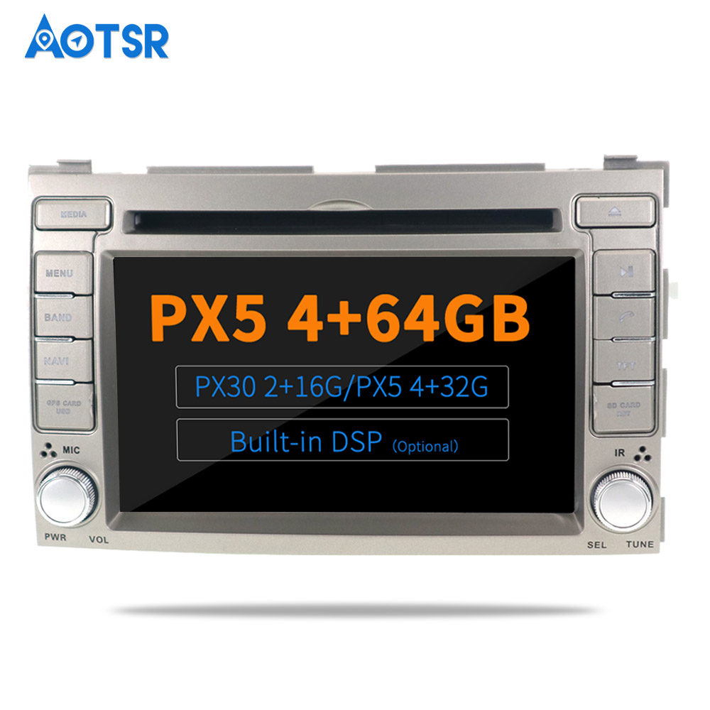 AOTSR <font><b>Android</b></font> 9.0 / 10.0 DSP <font><b>Radio</b></font> For HYUNDAI I20 2008 2009 2010 2011 2012 2013 Car <font><b>GPS</b></font> Navigation <font><b>2</b></font> <font><b>Din</b></font> Bluetooth Player image
