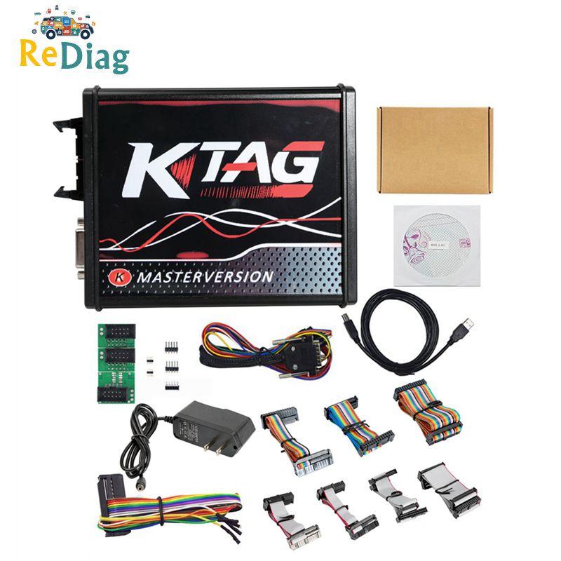 EU Version KTAG 7.020 Firmware Latest V2.25 No Token Limited Multi-Language K TAG 7.020 Online Version