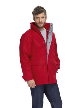 PARKA FLEECE LINED AND PADDED-RECORD WINTER MEN