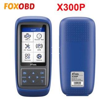 New XTOOL X300P Diagnostic tool Car Scanner obd oil Reset ABS Bleeding Maintenance Light Reset Odometer Adjustment Online Update