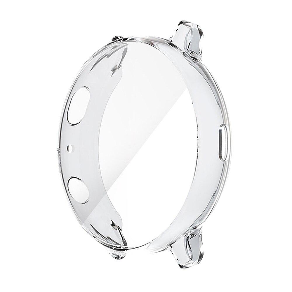 Protetor de Tela Capa para Samsung All-around Case Galaxy Relógio 40mm – 44mm Transparente Anti-risco Magro Pára-choques Capa Active2