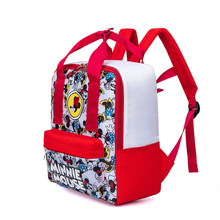 Kindergarten School Bag Mickey Backpack 1-3 Years Old 5 Men And Women Children Cute Anti Lost Backpack CHILDREN'S School Bags(China)