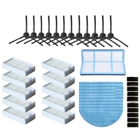 Seite Pinsel Hepa Filter Mopp Tuch Primäre Staub Filter Für Ilife V50 V55 Ilife V5 V5S V3 V3S V5Pro X5 v5S Pro Staubsauger Teile-in Staubsauger-Teile aus Haushaltsgeräte bei