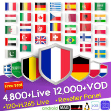 French IPTV France Italy Arabic Greece German IP TV Belgium Netherlands Subscription M3U Android Spain Portugal Turkey