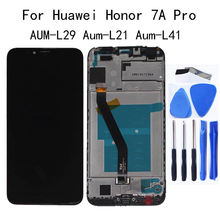 5.7 new LCD Display For Huawei Honor 7A pro AUM-L29 Aum-L21 Aum-L41 Touch screen digitizer replacement Repair kit Free Tool 5 7 new lcd display for huawei honor 7a pro aum l29 aum l21 aum l41 touch screen digitizer replacement repair kit free tool