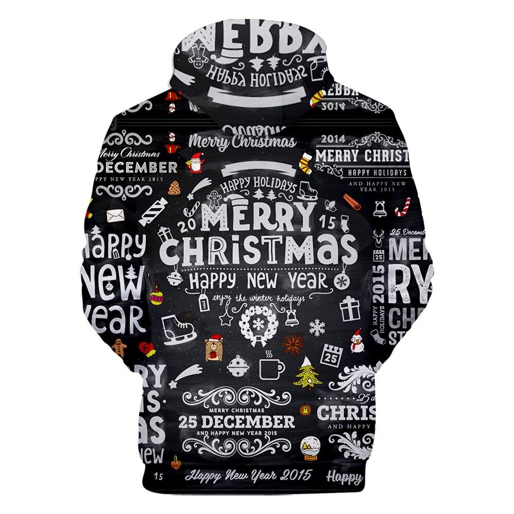 3D Christmas Hoodies Men&Women 17