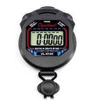 New Electronic LCD Timer Digital Sport Stopwatch Date Time Alarm Counter Chronograph