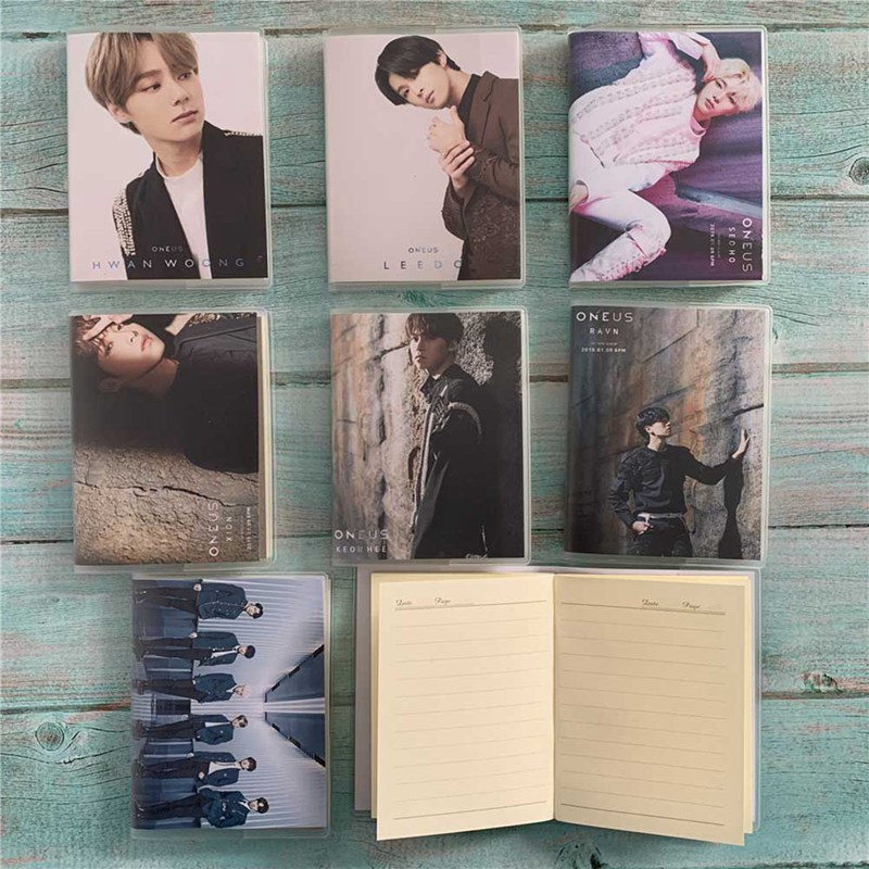 KPOP ONEUS About IN ITS TIME Cute Bookmark Note Notepad Tags Stationery Memo Pad Stationery Supplies