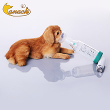 Aerosol Chamber Pet Inhaler Spacer For Cat Dog With Silicone Mask For Cat Dog