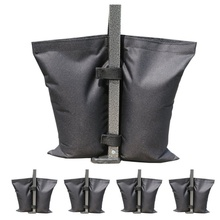 Waterproof Fixation Tent Weight Sand Bag Stand Outdoor Camping Accessories For Instant Sun Shelter Canopy Peg Legs