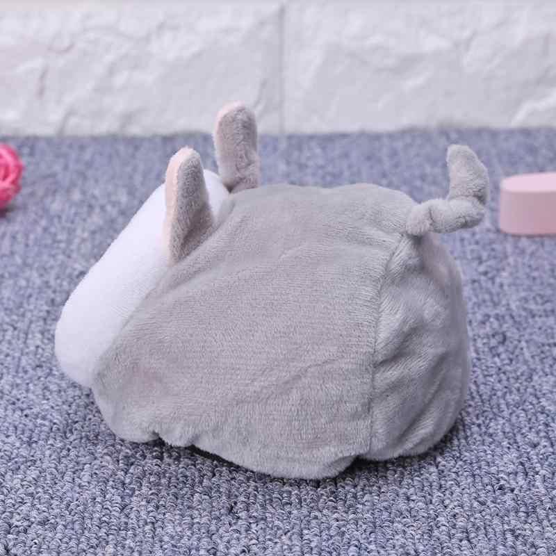 Musim Dingin Hangat Hamster Sarang Landak Yurt Bed Kandang Mouse Ayam Kapas Rumah Hewan Kecil Tempat Tidur Gua Hewan Peliharaan Tikus nest