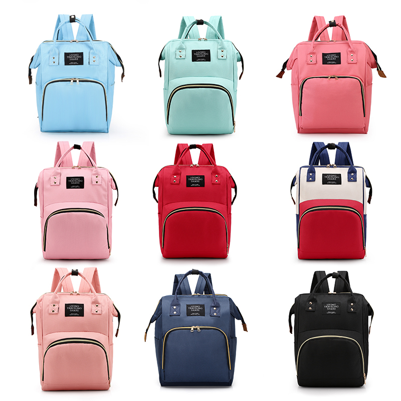 Diaper Bag Backpack Waterproof Multifunctional Travel Mummy Bag New Maternity Baby Nappy Changing Bags Large Capacity Wet Bag