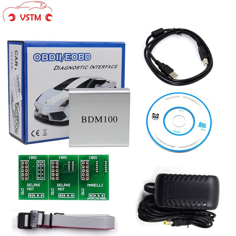 BDM100 ECU Programmer Chip Tuning Tool BDM Frame Bdm100 CDM1255 OBD2 Automotive Car Diagnostic Auto Tool Fgtech V54 BDM 100