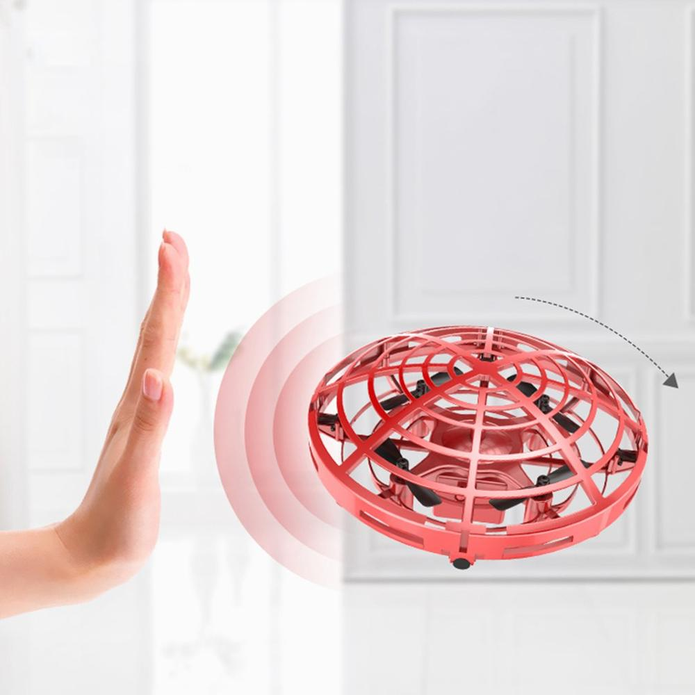Mini flayaball Fliegen UFO Ball RC drone Infraed Induktion hubschrauber Anti-kollision Quadcopter Elektronische Durable Eders Kinder spielzeug
