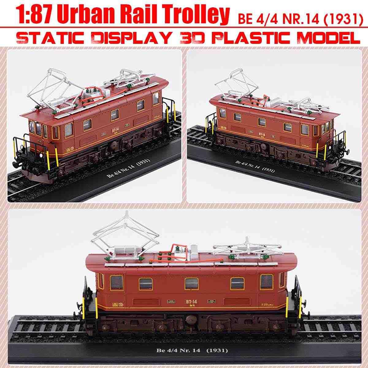 1: 87 Магнитная игрушка/машинка, подключенная к метро трек поезд игрушки из сплава звук и свет автомобиля коллекция