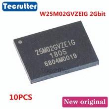 10 Uds. W25M02GVZEIG WSON8 8X6 2Gbit 25M02GVZEIG NAND FLASH