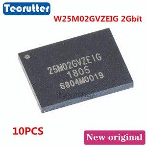 Image 1 - 10PCS W25M02GVZEIG WSON8 8X6 2Gbit 25M02GVZEIG NAND FLASH