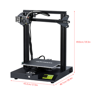 Image 3 - LOTMAXX SC 10 3D Printer Kit Silent Printing 235*235*280mm Build Volume Built in Safety Power Supply Filament Run Out Detection