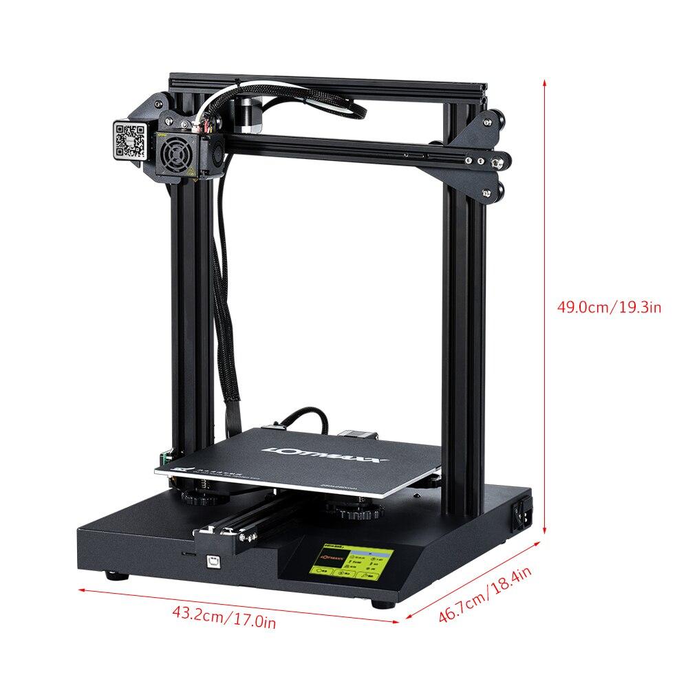Image 3 - LOTMAXX SC 10 zestaw do drukarki 3D Silent Printing 235*235*280mm objętość budowy wbudowany zasilacz bezpieczeństwa wykrywanie wyczerpania żarnikaDrukarki 3D   -
