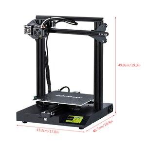 Image 3 - Lotmaxx SC 10 impressora 3d kit de impressão silenciosa 235*235*280mm construir volume built in segurança fonte de alimentação filamento correr para fora detecção