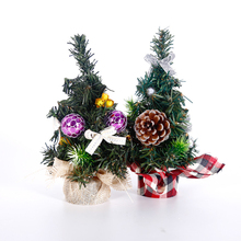 Christmas Tree New Year Mini Artificial Desktop Ornament Gifts Decoration Simulation Plant