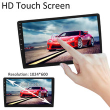LEORY 2 DIN 1+16G Car MP5 Player Quad Core Stereo Radio IPS Touch Screen