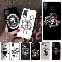 HUAGETOP Barber Shop Phone Case For Samsung Galaxy A01 A11 A31 A81 A10 A20 A30 A40 A50 A70 A80 A71 A91 A51(China)