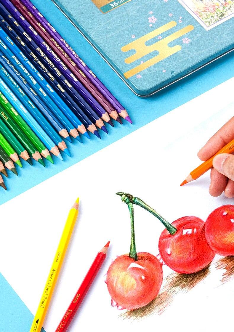 de cor lápis de cor aquarela lápis de natal