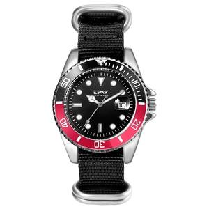 Image 3 - Homme analogique montre à Quartz Canlander hommes montre bracelet en Nylon luxe décontracté affaires horloge vert