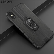 For Oneplus 7 Case TPU+PC Finger Holder Hard Anti-knock Bumper Cover 6T 1+7 1+6T 6.41 BSNOVT