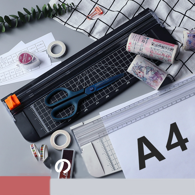 Retro Handmade Mini Small Paper Knife Artifact Cut Photo Cutting Machine A4 Paper Large Cut Paper Precision Photo Paper Cutter