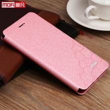 Dạng Flip Case Cho Xiaomi Redmi 7 Redmi 7 Đứng Bao Cô Gái Chống Kích MOFI Quyển Sách Bao Da Redmi 7 coque Silicone Cao Cấp Lấp Lánh