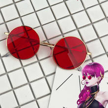 LOLGame K/da Kda S8 Cosplay Evelynn Red Sunglasses Glasses Prop Akali Ahri Kaisa Cosplay Prop(China)