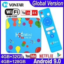 H96 Mini Android TV Box Max 4GB RAM 128G